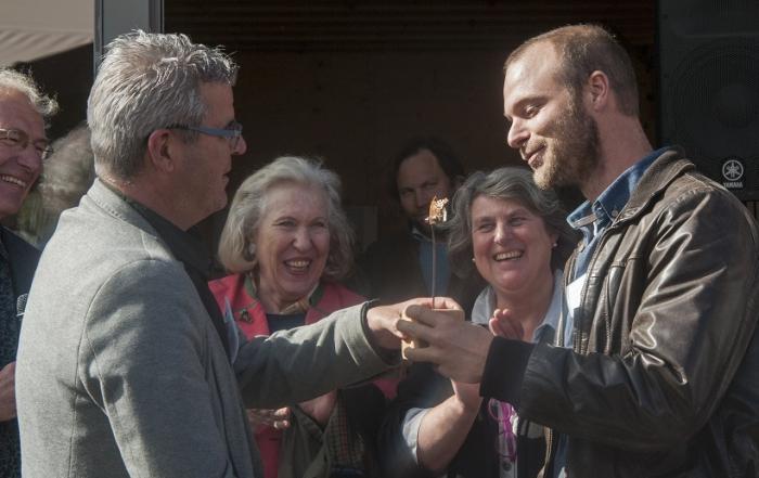 Winnaar eerste Soil4U Award Lennard Duijvestijn